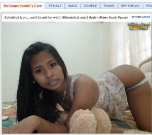 belleanddaniel asian camgirl
