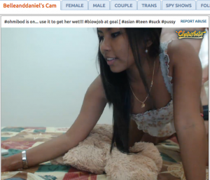 belleanddaniel cute asian camgirl