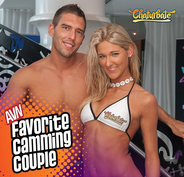 Félicitations AVN Préféré Cam Couple