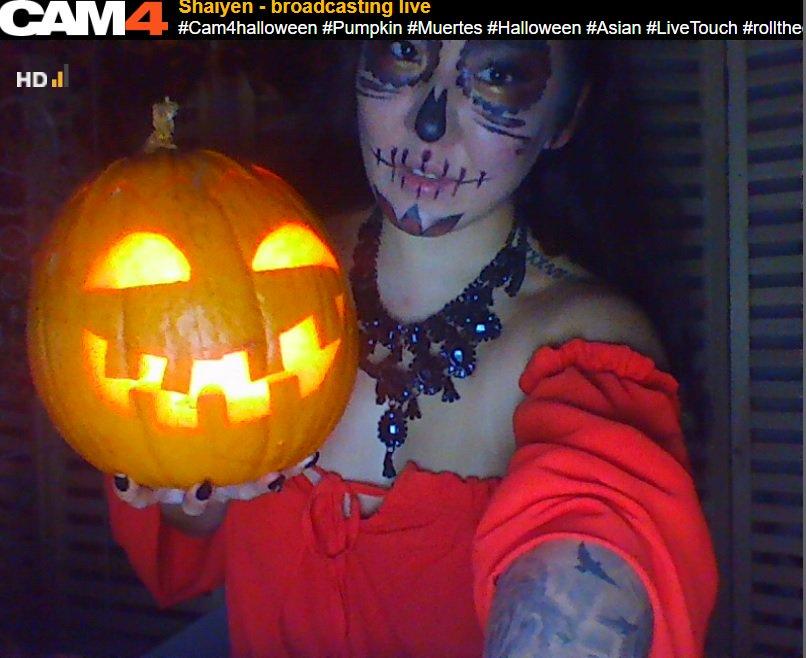 Qui a Gagné le 2018 CAM4 Freaky Halloween Concours!?