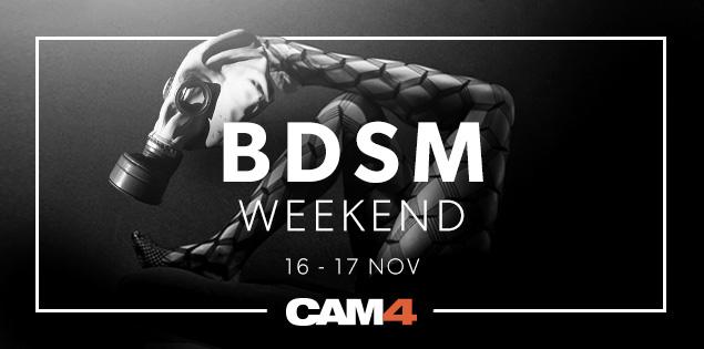 BDSM Week-end: week-end de rupture au sol et pervers dans CAM4!