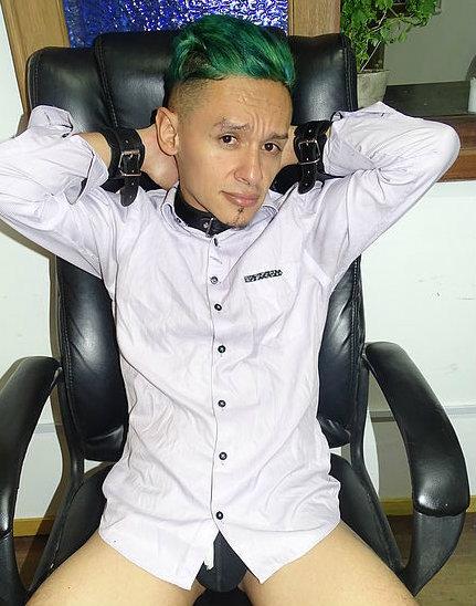 Entretien avec le garçon webcam gay fetish Tiimett_max