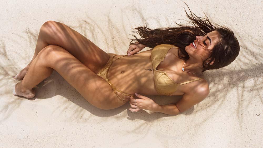 sexy Frau zuschauen