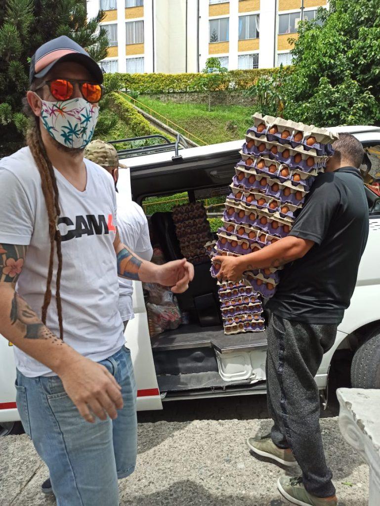 CAM4 l'assistance aux groupes vulnérables en Colombie au cours de la pandémie de