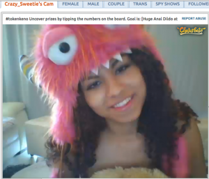 crazy_sweetie smiling on chaturbate