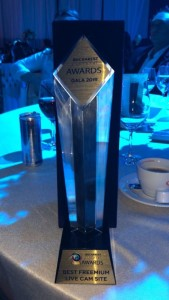 Cam4 moissonne un Award!