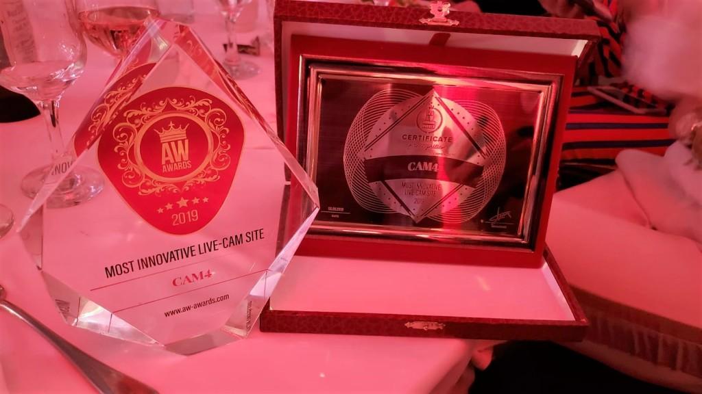 CAM4 primé sur l'AW Sommet et le Sommet de Bucarest Prix 2019