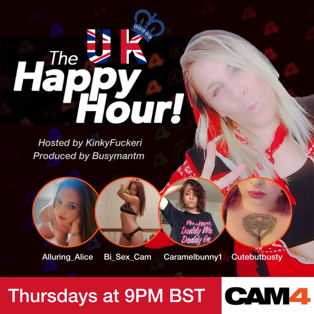 Le spectacle de l'Happy Hour sur CAM4!